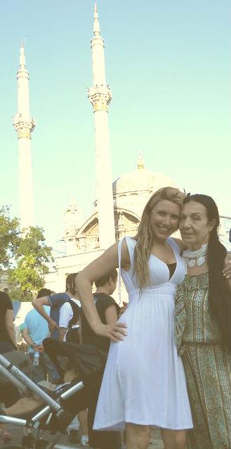 Shivaun with Turkish  Belly Dance Star Sema Yildiz