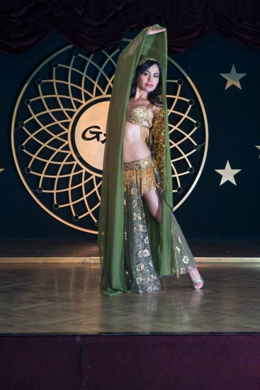 Beautiful Turkish Belly Dancer Gigi at Gar Music Hall